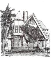 Victorian House in Hillcrest, by RD Riccoboni