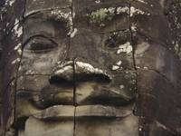 Bayon Temples - Look close and see the faces. Bril