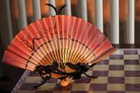 Fire Sunset Fan
