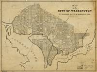 Map of the City of Washington, D.C. (1840)