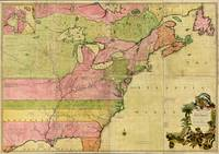 Map of North America by Kitchin, Mitchell and Mill