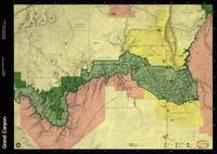 Map of Grand Canyon National Park (1984)