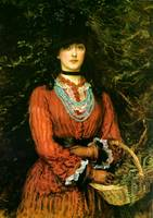Portrait of Miss Evelyn Tennant, 1874