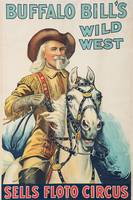 Buffalo Bill's Wild West Vintage Poster