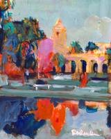 Balboa Park Del Prado Theater Reflections