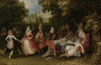 Garden Party (Fête Champêtre), David Vinckboons, c