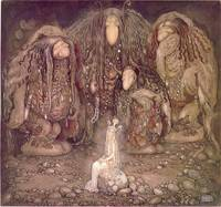 John Bauer 1915, Look at them, mother Troll said.