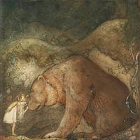 JOHN BAUER,   (POOR LITTLE BEAR).