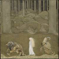John Bauer, The Princess and the Trolls