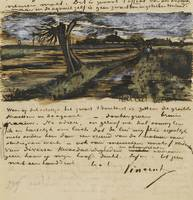 Letter from Vincent van Gogh to Theo van Gogh with