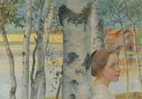 Lisbeth By The Birch Tree by Carl Larsson.Jpeg