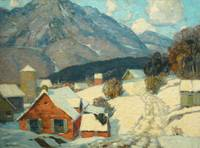 Mountain Hamlet by John F. Carlson (1874-1945)