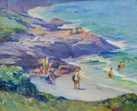 Ogunquit Bathers by Mabel May Woodward (1877-1945)