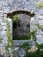 Arched Stone Window