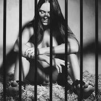 Photograph Nude Beauty in a Cage