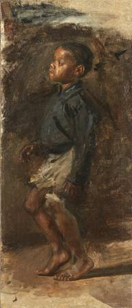 Study For Negro Boy Dancing. The Boy by Thomas Eak