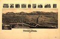 Perspective Map of Ogden, Utah (1890)