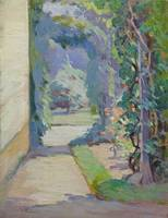Trellis and Lane by Mabel May Woodward (1877-1945)