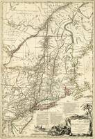 American Revolutionary War Map (1782)