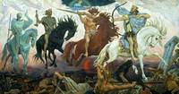 Four Horsemen of Apocalypse by Viktor Vasnetsov (1