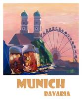 Munich_Bayern_Retro_Travel_Poster