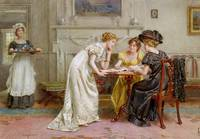 George Goodwin Kilburne , afternoon tea