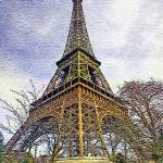 """""""Vintage Eiffel"""" by papalars"""