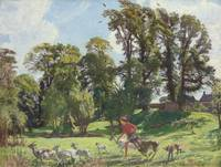 Watson, George Spencer - Mary in the gardens, Duns