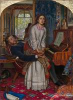 William Holman Hunt - The Awakening Conscience, Ta