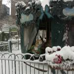 """Snowy Carousel"" by JohnFraissinet"
