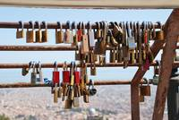 Locking love in Barcelona