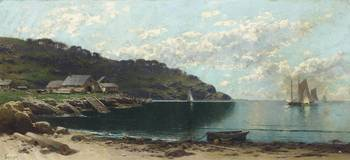 Alfred Thompson Bricher - On the Coast of Maine