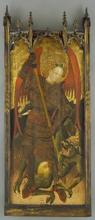 Andres Marzal de Sas (school of) - Saint Michael F