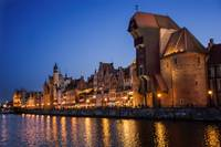 Romantic evening in Gdansk