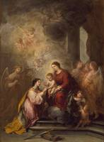 Bartolome Esteban Murillo - The Mystic Marriage of