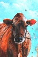 Beulah the Cow  Kip Hayes Art