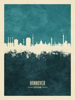 Hannover Germany Skyline