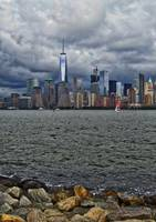 New York City Stormy Skyline