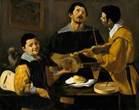 Diego Velázquez - The Three Musicians