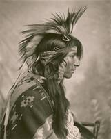 Cree Indian, taken by G. E. Fleming, 1903