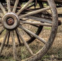 #171-Half Wagon Wheel
