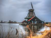 101-Dutch  Real Windmill