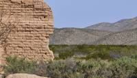 West Texas Ruins and Landscape