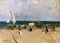 Joaquín Sorolla y Bastida (Spanish, 1863-1923), At