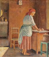 ANNA SAHLSTEN, WOMAN BAKING