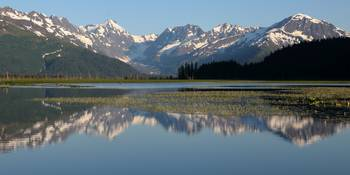 Alaska Mountain Reflection