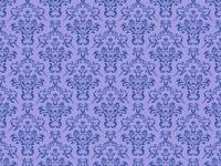 victorian blue ornamental