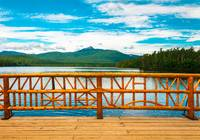 New Hampshire Lake Bridge