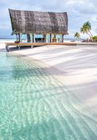 Early Morning at the Maldivian Resort 1