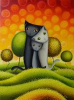 Cat Family Painting 3in1